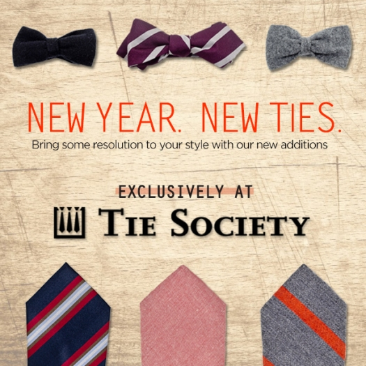 January New Ties INSTAGRAM
